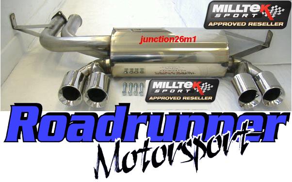 Milltek Bmw M3 E46 Stainless Steel Rear Silencer Exhaust