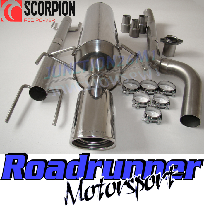Scorpion Astra MK5 CDTI 1.9 DIESEL Exhaust System Stainless With ...