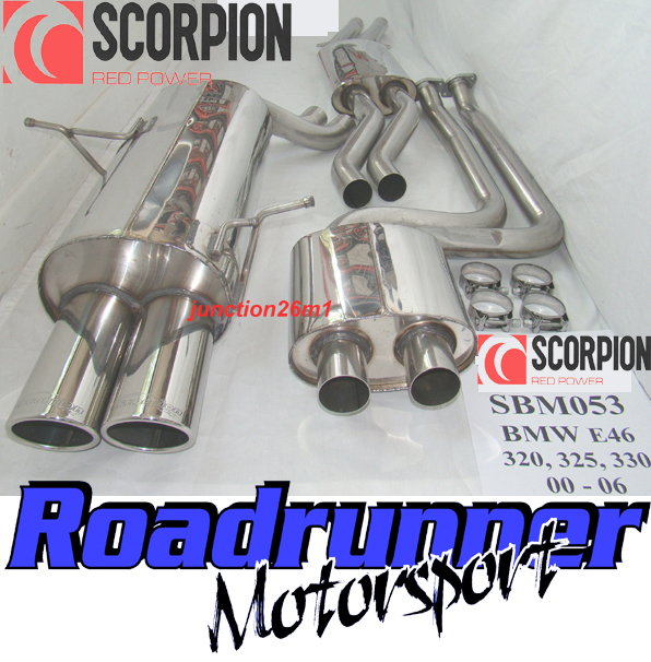 Brand New Scorpion Exhaust Cat Back To Fit BMW 320i 325i 330i E46 2001 2006: BMW E46 325i Exhaust System At Woreks.co