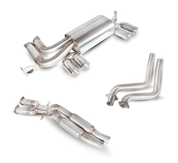 Scorpion M3 E46 Cat Back Exhaust System Stainless Steel